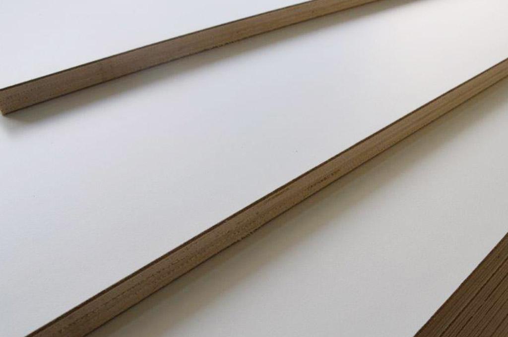 Pannelli multistrati laminato bianco