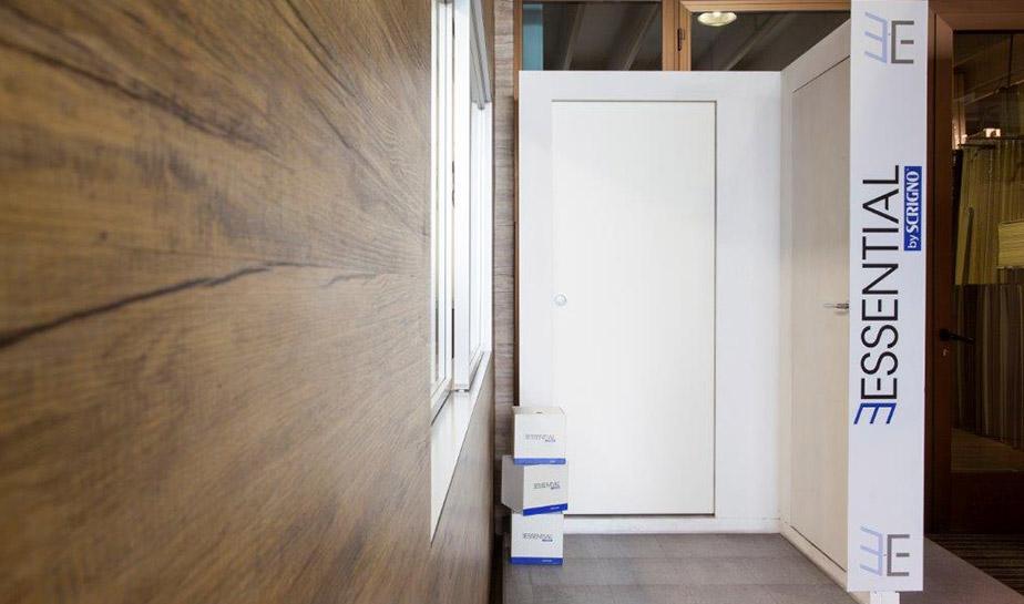 Porte in legno laccate